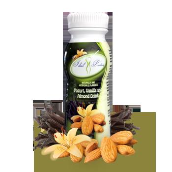 Ready-to-Serve Vanilla and Almond Flavored Yogurt Drink